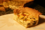 Asparagus, mushrooms and cheese quiche / Киш с аспержи, гъби и сирене