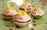 Лимонови мъфини с мед и орехи и Честита първапролет!
