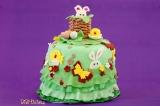Весела Великденска торта