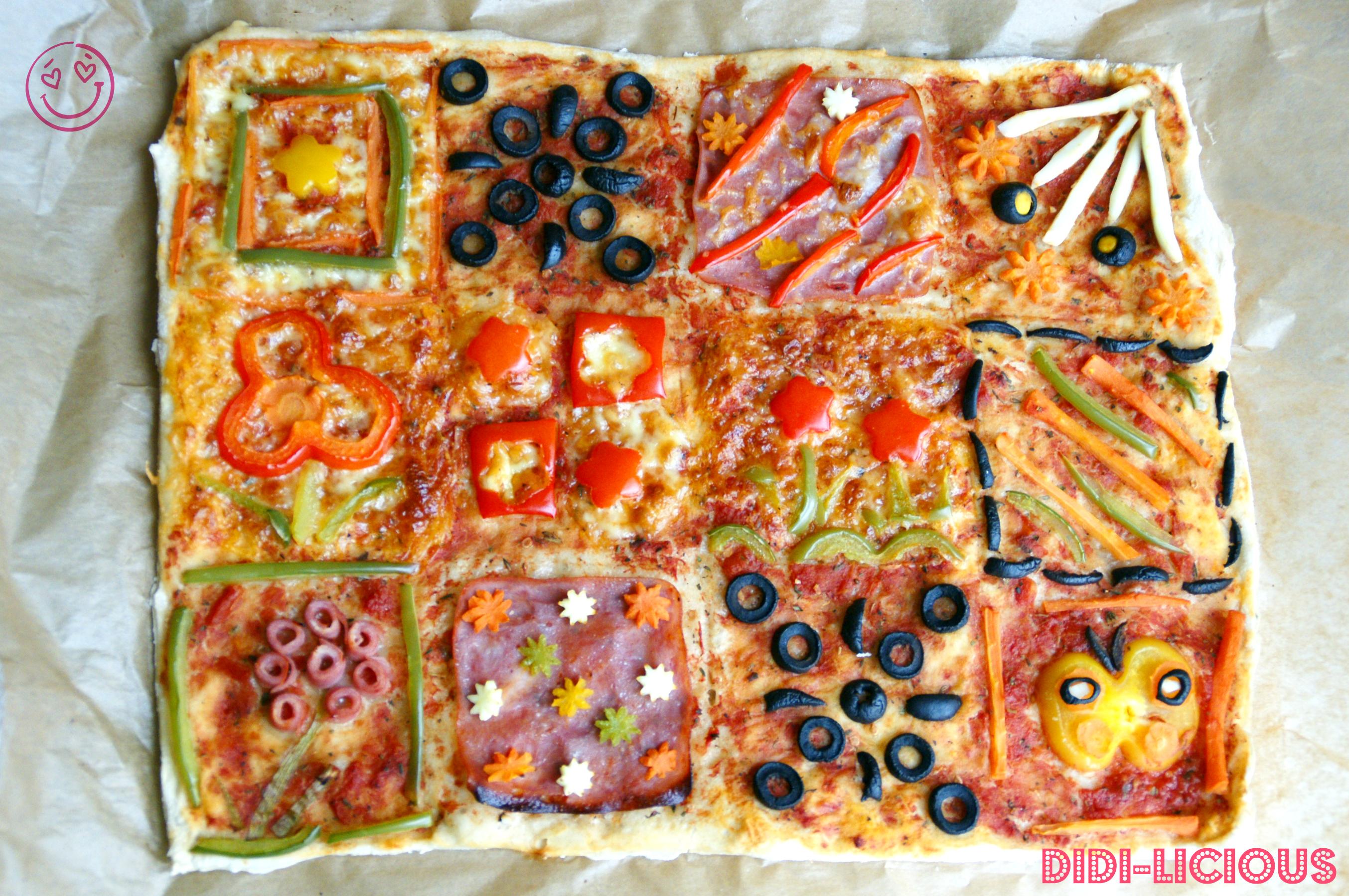 Одеяло Пица / Quilt Pizza | DiDi-licious