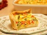 Киш със смесени зеленчуци / Mixed vegetablequiche