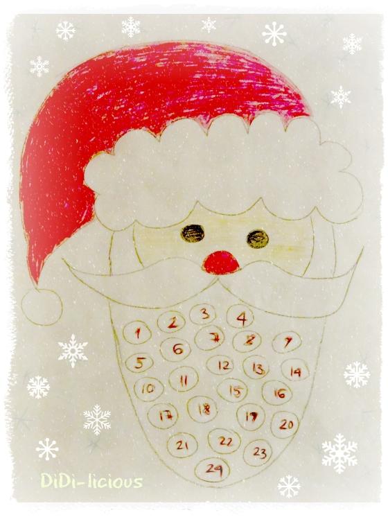 Santa Advent Calendar  / Коледен календар Дядо Коледа