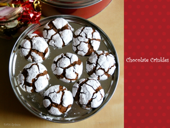 chocolate crinkles 2