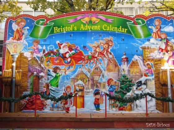 Бристолският коледен календар / Bristol advent calendar