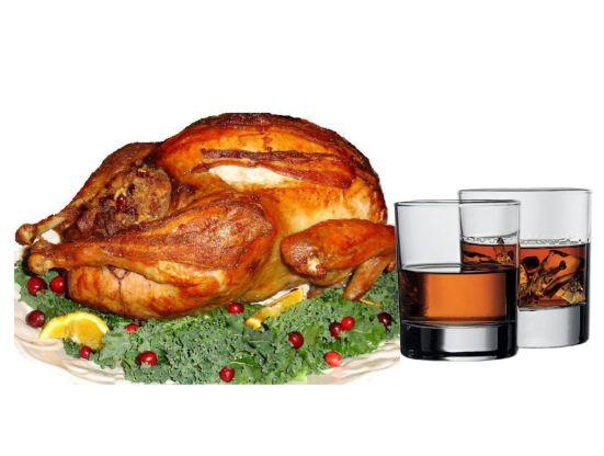 turkey with whiskey