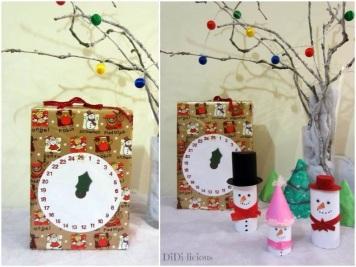 Коледен календар-кутия
