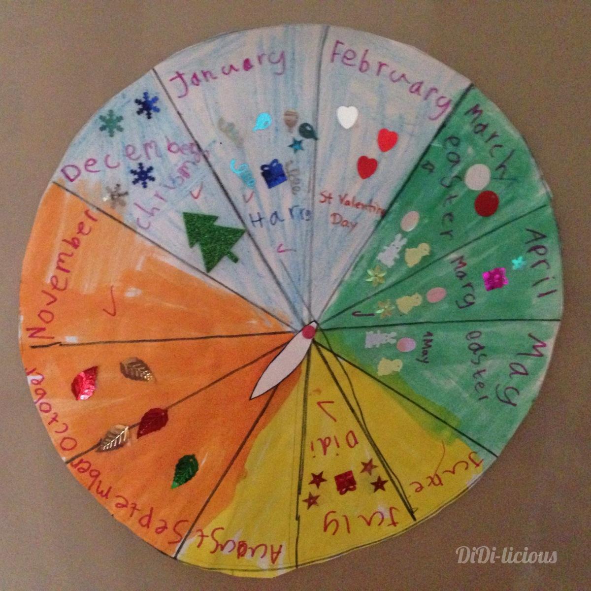Годишен календар за деца